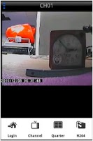 Screenshot of iWatch DVR