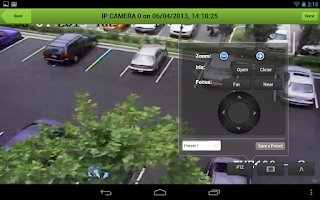 Screenshot of TruVision Mobile