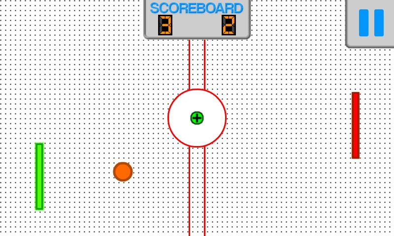 Paddle Ball- screenshot