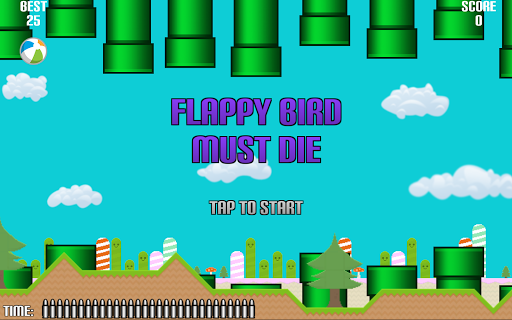 動作必備APP下載|Flapping Bird Must Die! Free 好玩app不花錢|綠色工廠好玩App