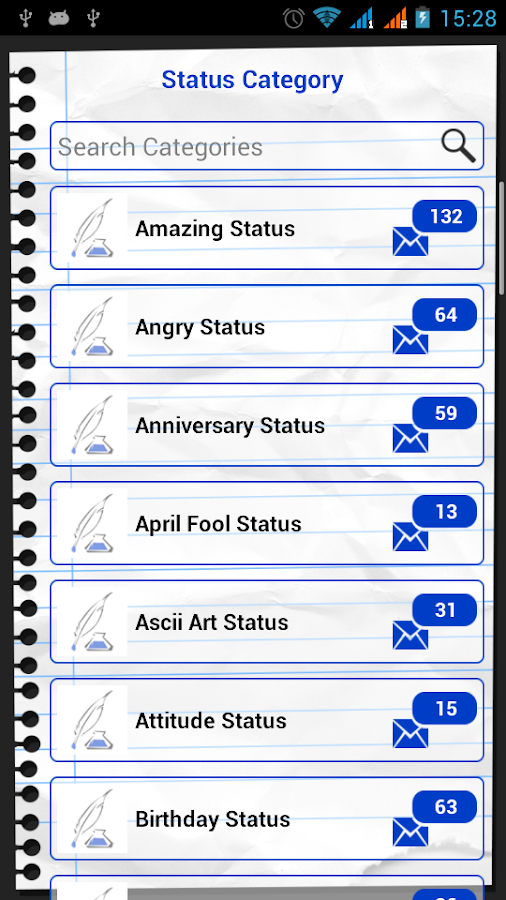 Facebook & WhatsApp Status Set - screenshot