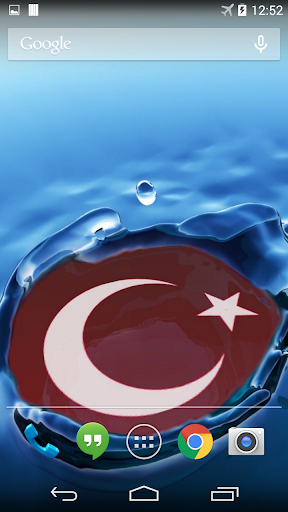 Turkish Flag Live Wallpaper