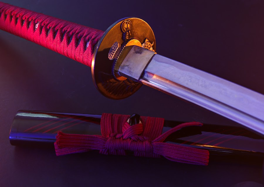 by Mike Driscoll - Artistic Objects Other Objects ( candle, warm, sharp, samurai, sword )