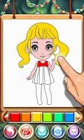 Screenshot of Coloring Book - Princess