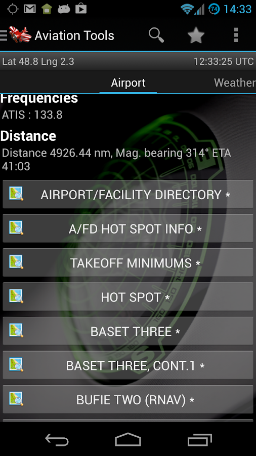Aviation Tools Donate - screenshot