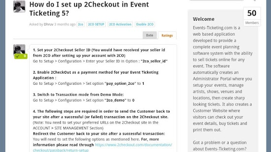 Event Ticketing 5- screenshot thumbnail