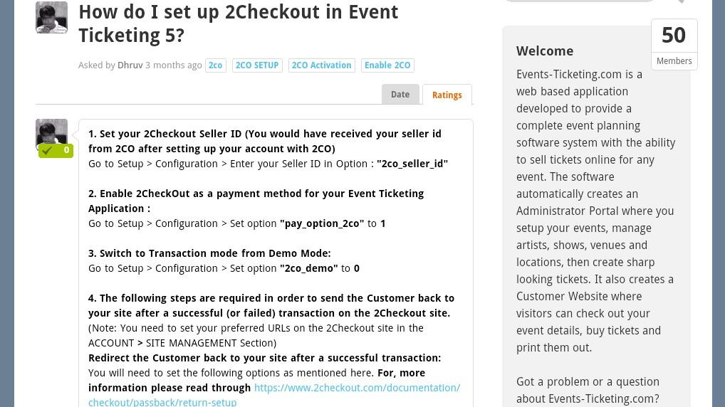 Event Ticketing 5- screenshot