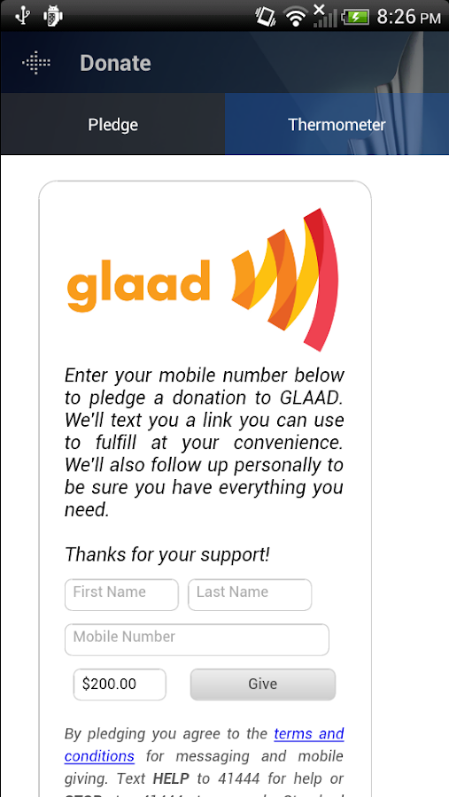 GLAAD Media Awards - screenshot