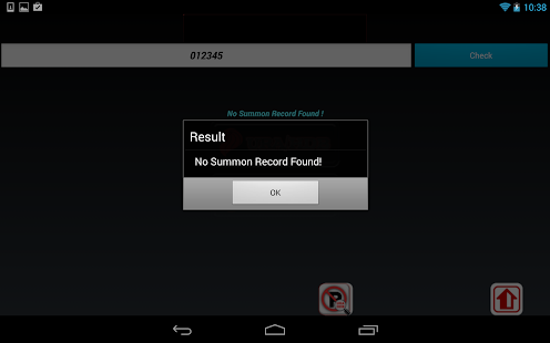 Singapore Parking Summons - screenshot thumbnail