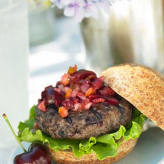 Cherry/Rosemary Burgers