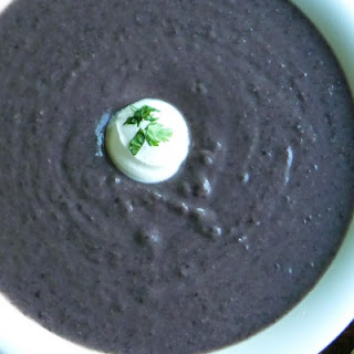 Richard's Radical Black Bean Soup