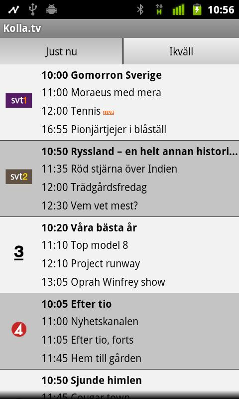 Kolla.tv- screenshot