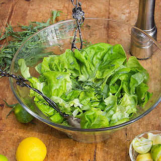 Butter Lettuce Salad with Citrus Honey Vinaigrette.