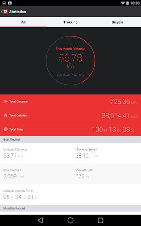 Pocket Runner GPS Run Cycle 2.5.1 screenshot 17885