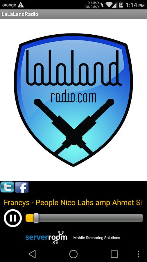 LaLaLandRadio - screenshot