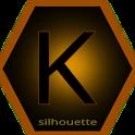 Silhouette for Kustom KLWP icon
