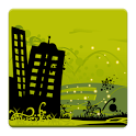 City Free Live Wallpaper icon