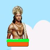 Mahabharata Arjuna jump