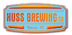 Logo for Huss Brewing Company