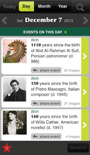 Historica Calendar