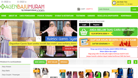 Agen Baju Murah screenshot 3