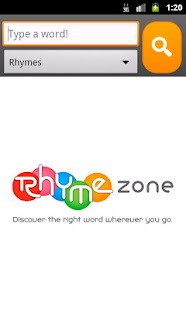 RhymeZone Rhyming Dictionary - screenshot thumbnail