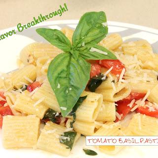 Tomato Basil Pasta Toss!