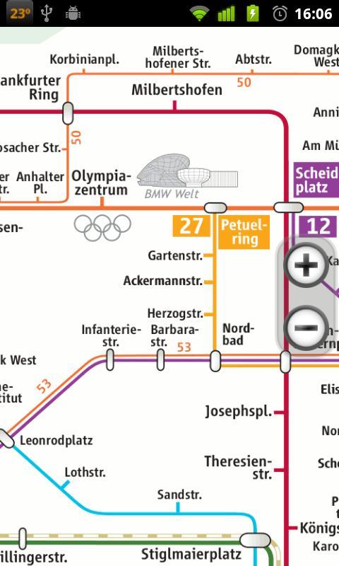 Мюнхена. U-Bahn и S-Bahn.
