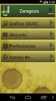 Screenshot of Niveles de polen