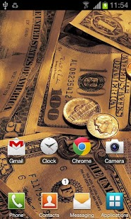Money Live Wallpaper - screenshot thumbnail