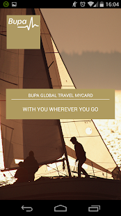 Bupa Global Travel myCard- screenshot thumbnail