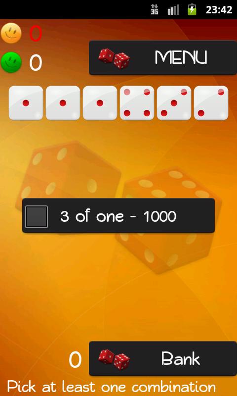 Dice Game - screenshot
