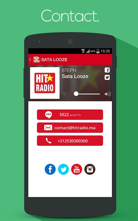 HIT RADIO Player – Capture d'écran