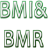 BMI & BMR Calculator