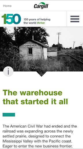 玩免費商業APP|下載Cargill 150th Anniversary app不用錢|硬是要APP