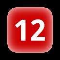 Set holidays annual calendar logo