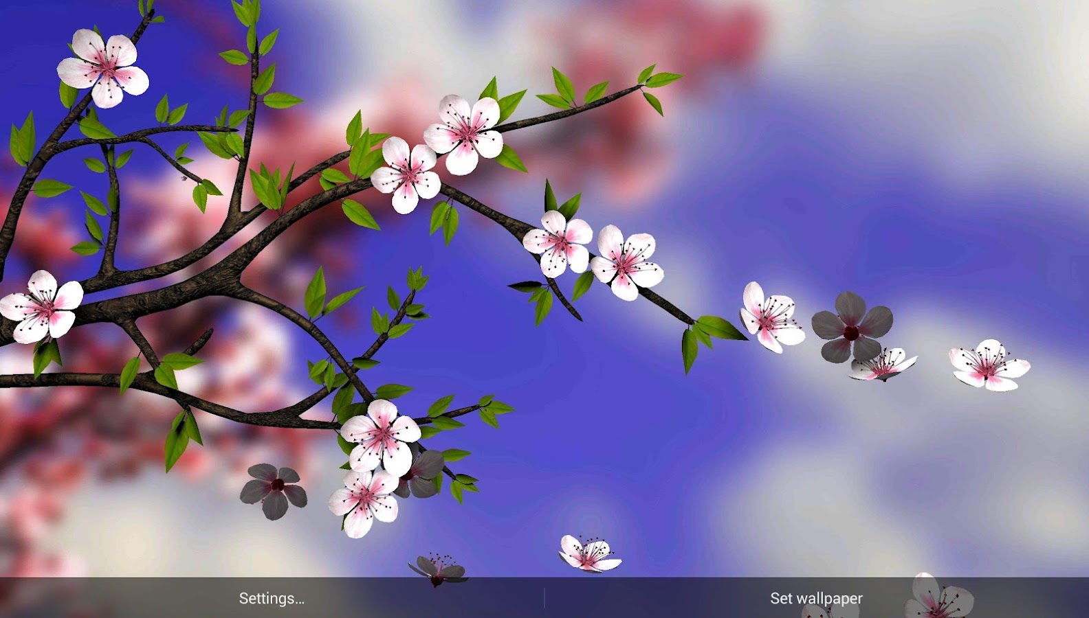 spring flowers 3d parallax pro android apps on google play