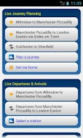 Screenshot of Rail Planner Live