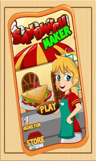 Sandwich Maker – cooking games