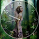 Runaway Angel Clock LWP Theme