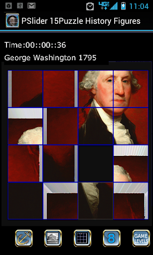【免費解謎App】PSlider 15Puzzle History Faces-APP點子