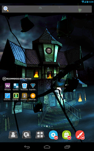 UR 3D Haunted House Live Theme - screenshot thumbnail