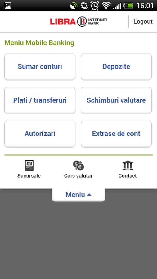 Libra Mobile Banking- screenshot