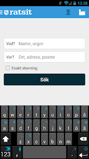Ratsit.se - screenshot thumbnail