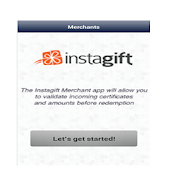 InstaGift Merchants Scanner