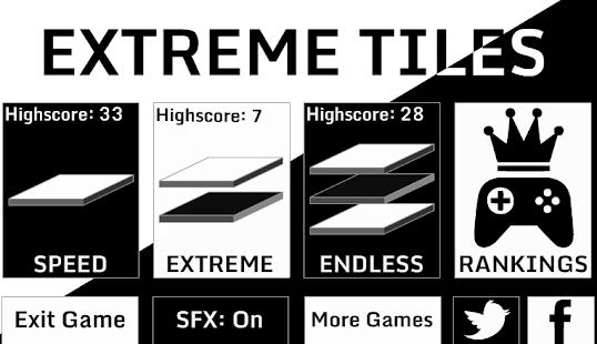 Extreme Tiles: Don't Tap White