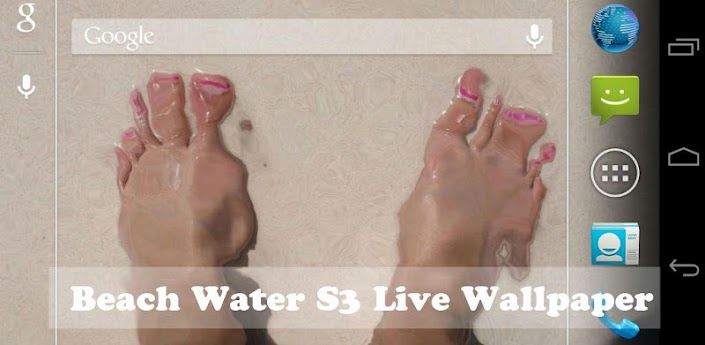 Beach Water Live Wallpaper +