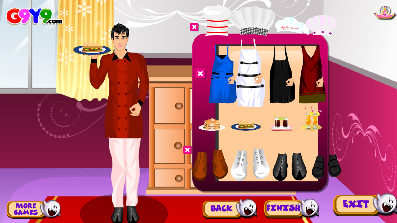 chef boy dress up - Android Apps on Google Play