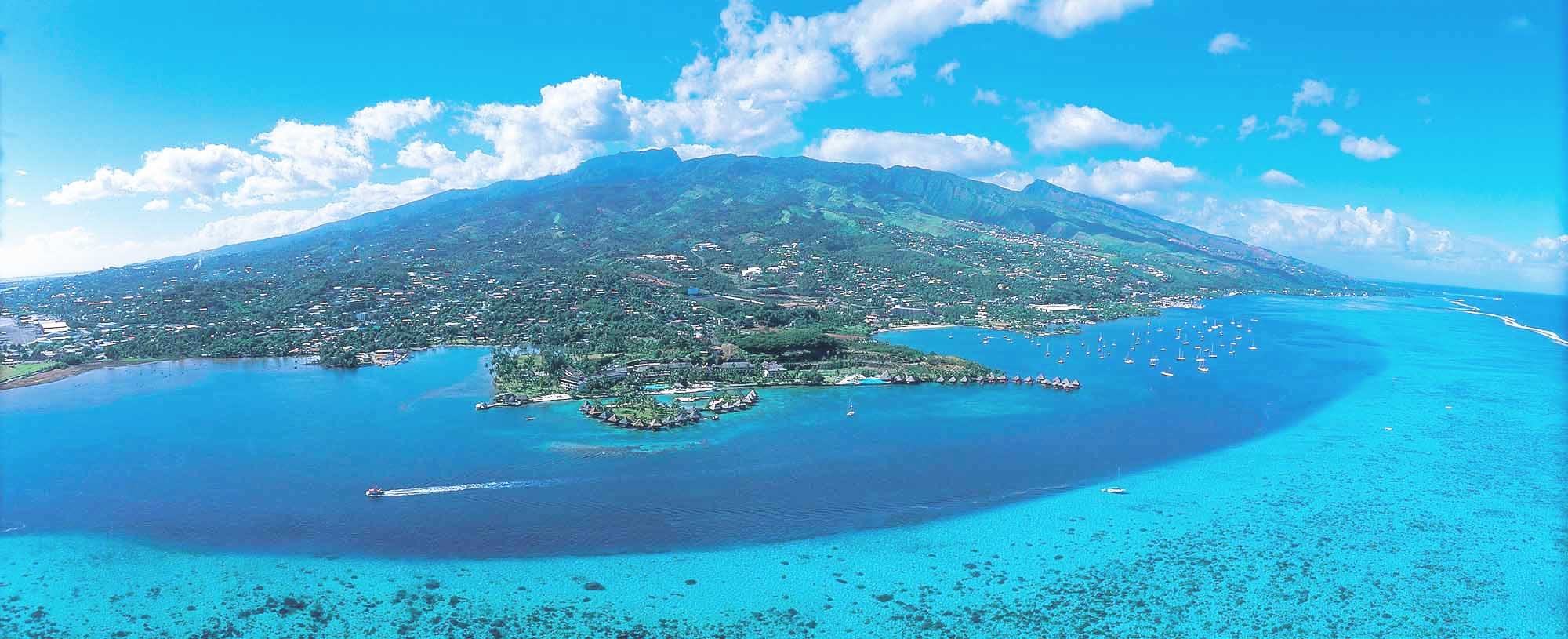 """Tahiti, known as """"The Queen of the Pacific,"""" is the largest and most populous of the 130 islands in French Polynesia"""
