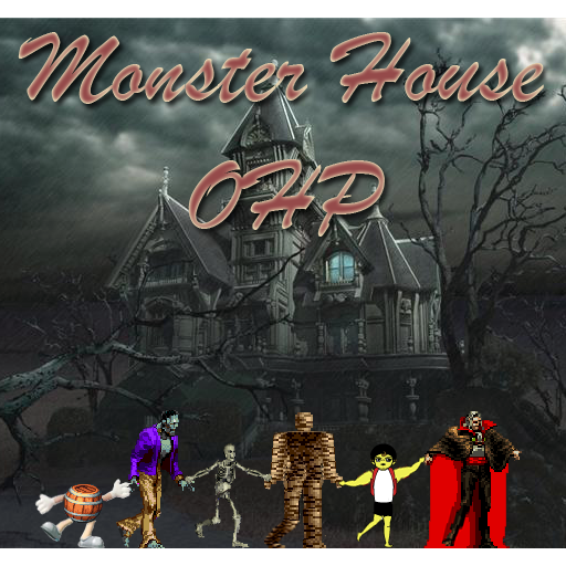 Monster House OHP LOGO-APP點子